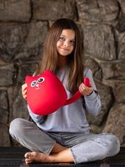 Мягкая игрушка-подушка Gekoko «Кот Искорка» 4
