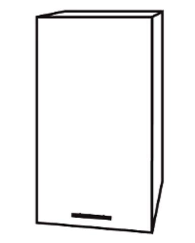 Чили ШВ 400 шкаф верхний