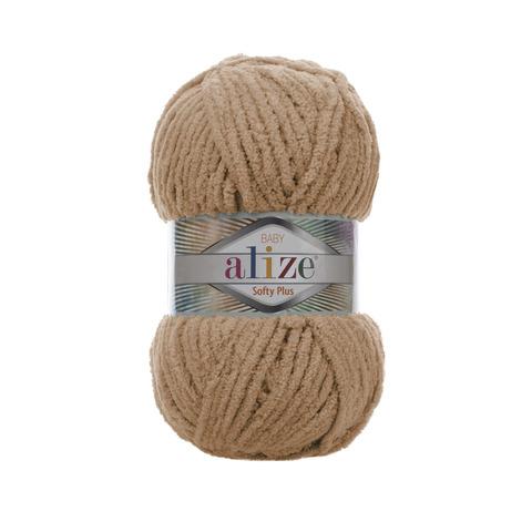 Купить Пряжа Alize Softy Plus Цвет 199 Коричневый | Интернет-магазин пряжи «Пряха»