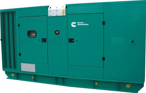 Дизельный генератор Cummins C275D5 в кожухе