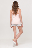 Пижама для беременных и кормящих 09717 пудра
