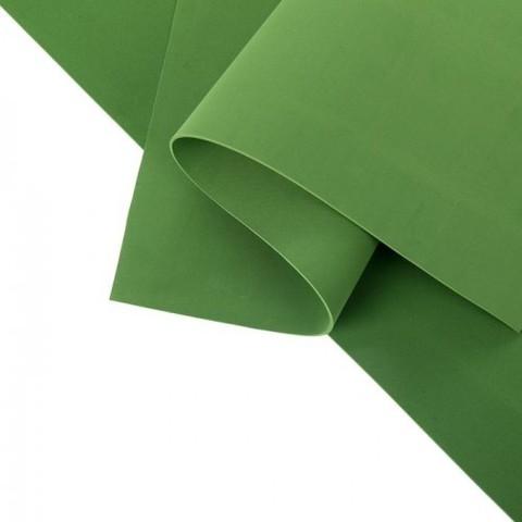 Фоамиран иранский 1 мм. Размер: 30*35 см. Цвет: зеленый