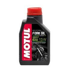 Вилочное масло полусинтетика Motul Fork Oil Expert Light 15W 1L