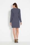 Платье для беременных 07828 синий