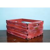 Ящик Для Хранения Пластинок MagicWood (Red Brick)