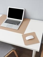 Комплект ковриков на стол, цвет светло-бежевый