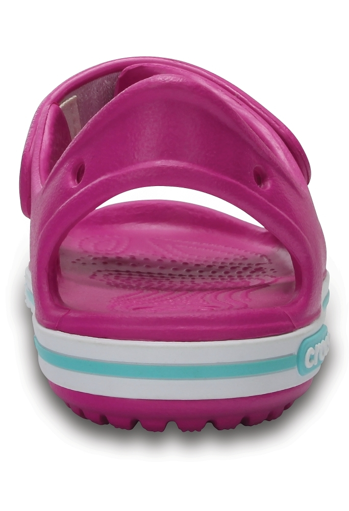 Розовые сандалии Crocs