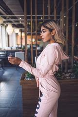 Спортивный костюм розовый хлопковый интернет магазин