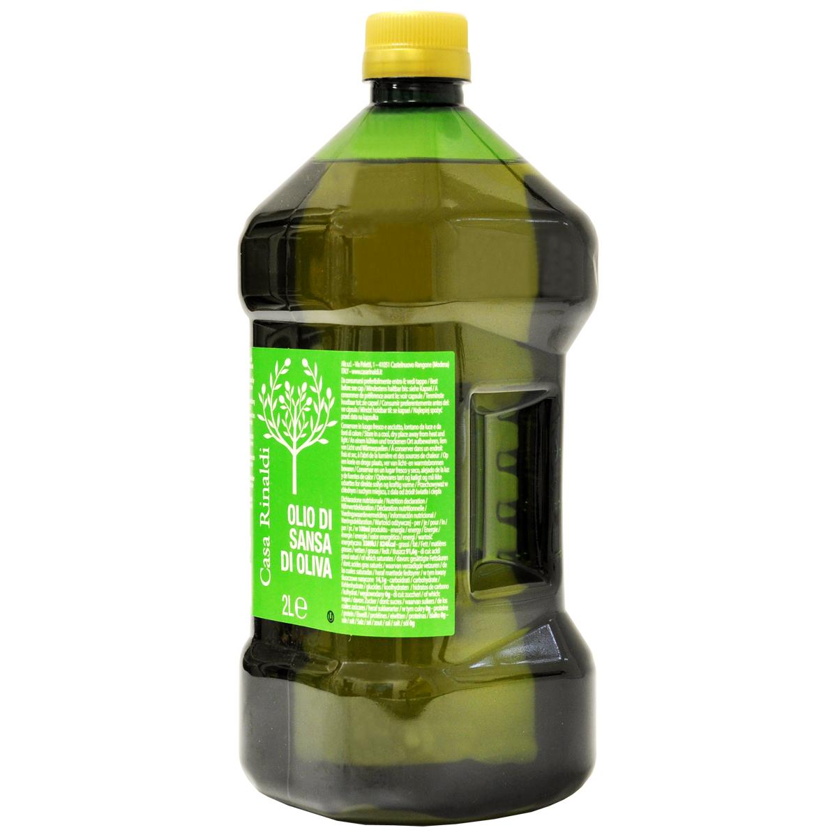 Масло оливковое рафинированное 2 л (OLIO DI SANSA E OLIVA 2L)