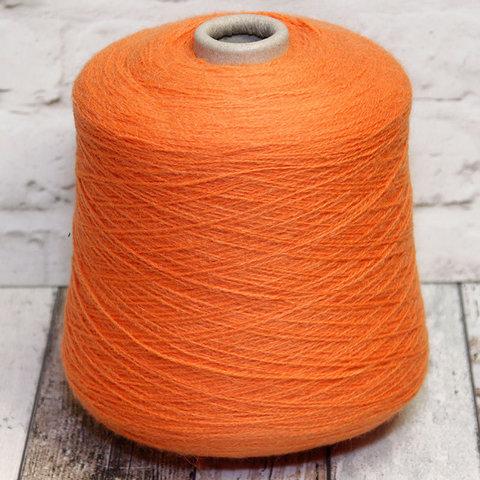 Полушерсть с альпакой LINEAPIU / INCAS 2/13 оранжевый