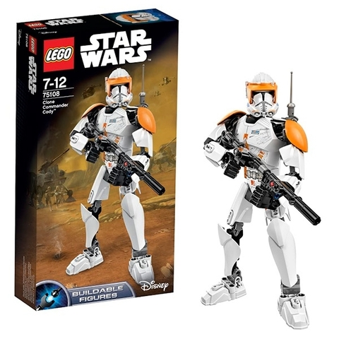 LEGO Star Wars: Клон-коммандер Коди 75108 — Clone Commander Cody — Лего Звездные войны Стар Ворз