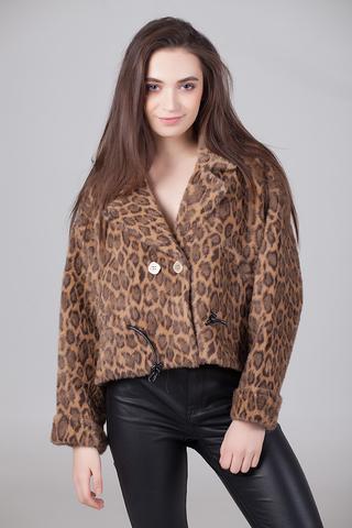 Куртка с леопардовым принтом Nadya
