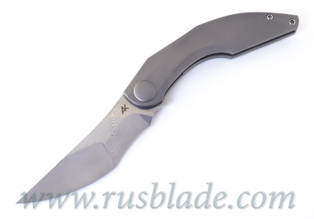 Pirate Full Custom knife by Alexey Khomyakov