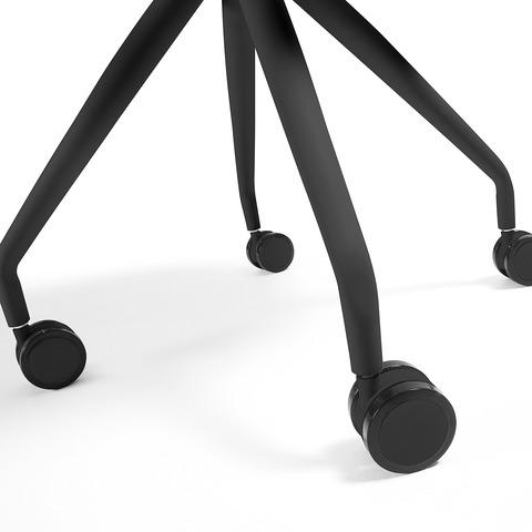 Cтул Lars черный на колесиках