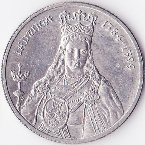 Польша 100 злотых 1988 Ядвига