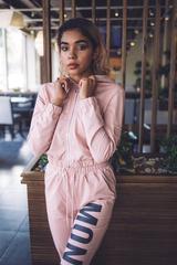 Спортивный костюм розовый хлопковый Nadya