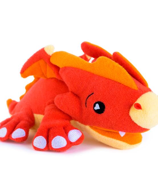 Игрушка-мочалка для купания Дракон Скорч