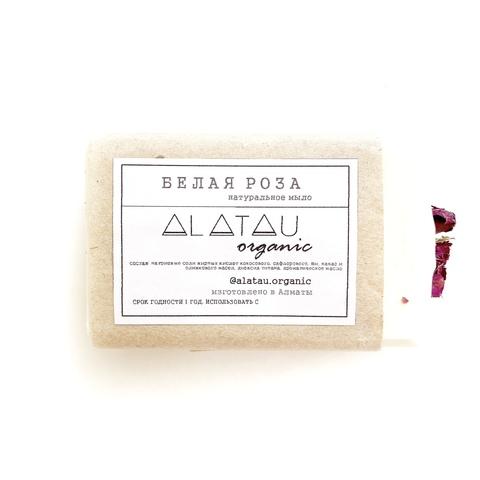 Мыло Белая роза (Alatau Organic)