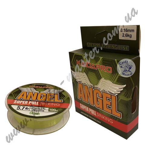 Леска зелёная KAIDA ANGEL 100 м