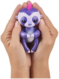 Интерактивный ленивец Fingerlings Мардж фиолетовый
