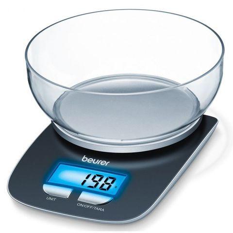 Весы кухонные электронные Beurer (B-KS25) макс.вес:3кг черный