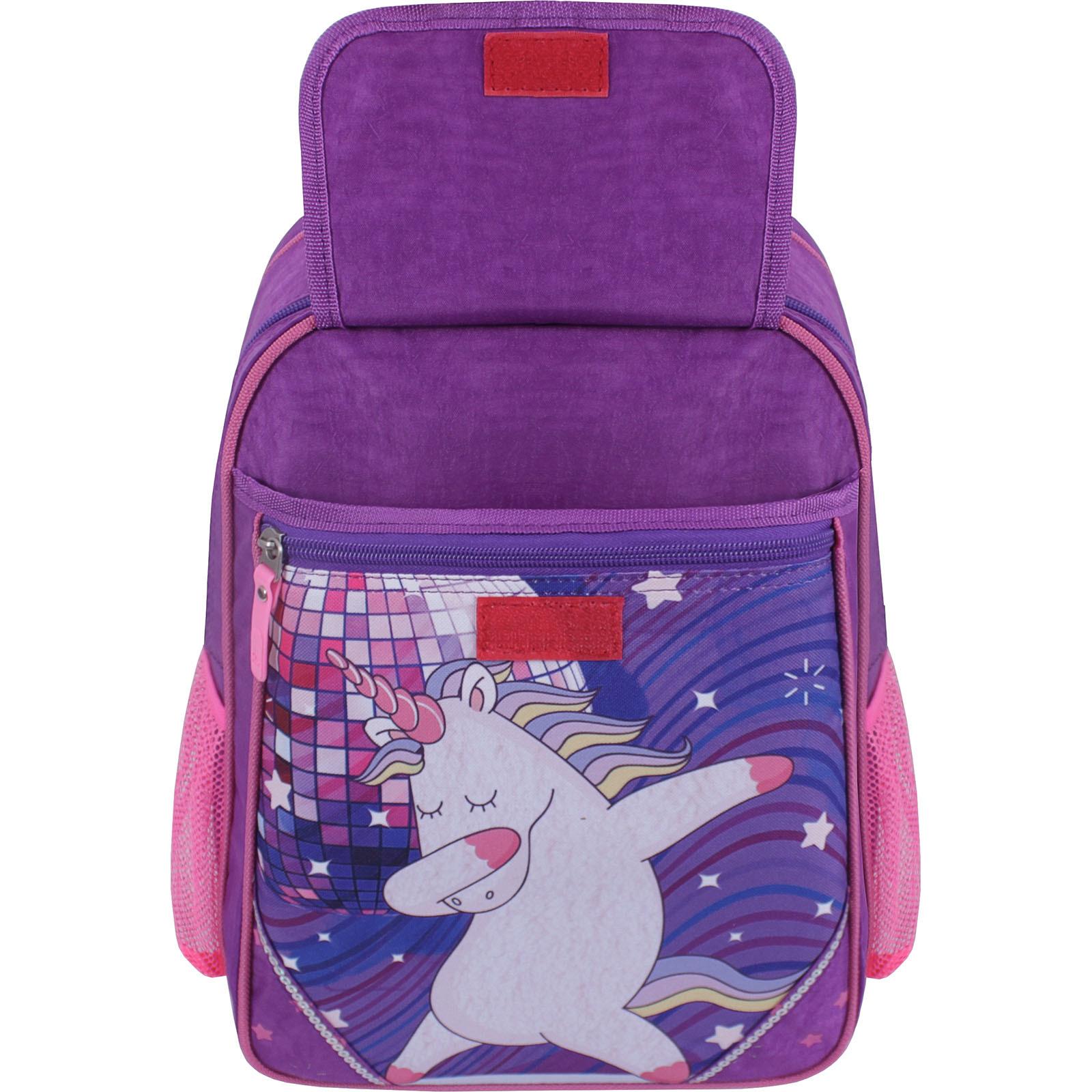 Рюкзак школьный Bagland Отличник 20 л. 339 фиолетовый 503 (0058070) фото 4