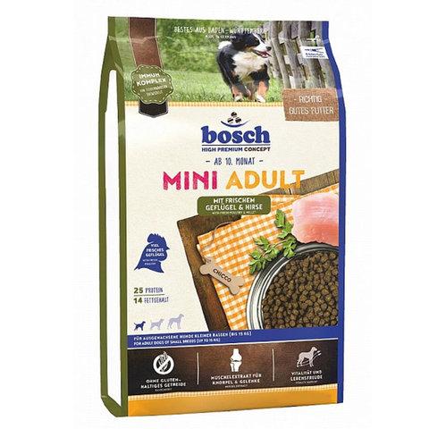 Bosch Mini Adult сухой корм для собак мелких пород с ягнёнком и рисом 1 кг