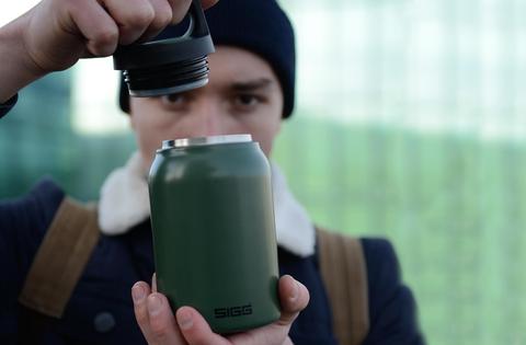 Термос для еды Sigg H&C Food Jar (0,5 литра), зеленый