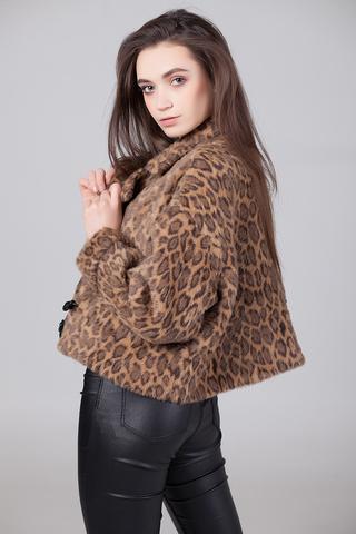 Куртка с леопардовым принтом купить