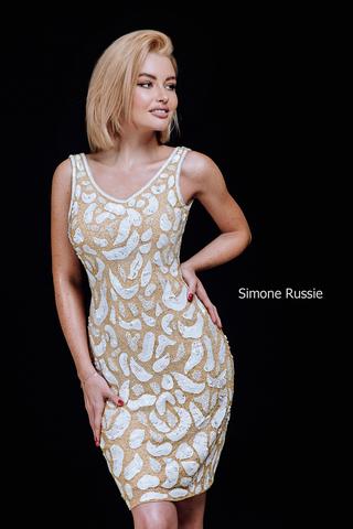 SR1950 Коктейльное платье средней длины