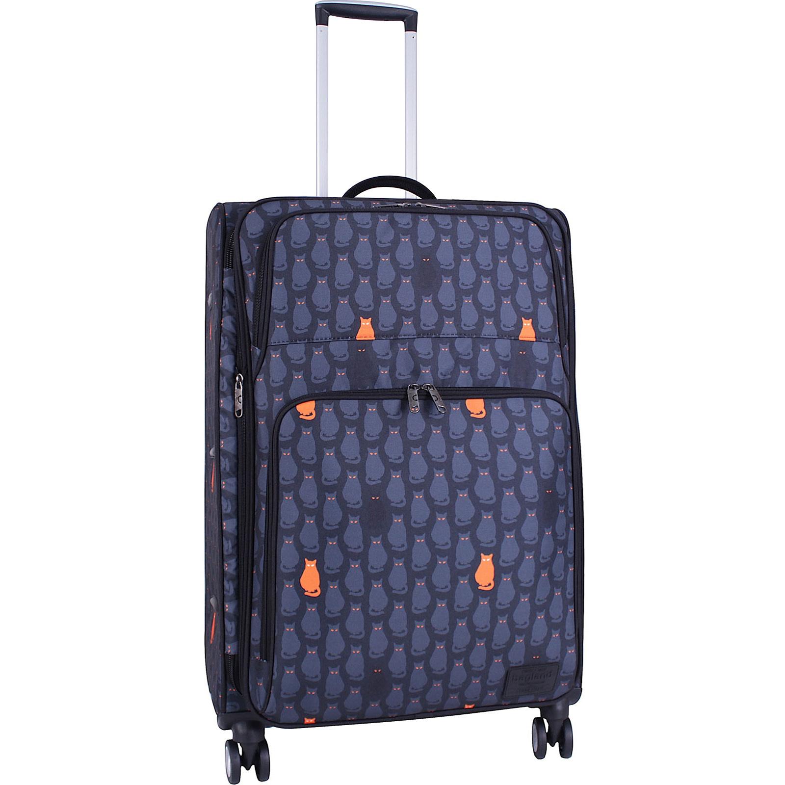 Дорожные чемоданы Чемодан Bagland Валенсия большой дизайн 83 л. сублімація 193 (0037966274) IMG_4895_суб.193_.JPG