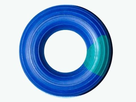 Эспандер кольцо , большой, ребристо - гладкий,  нагрузка 35 кг, цветной :(23019 AR):