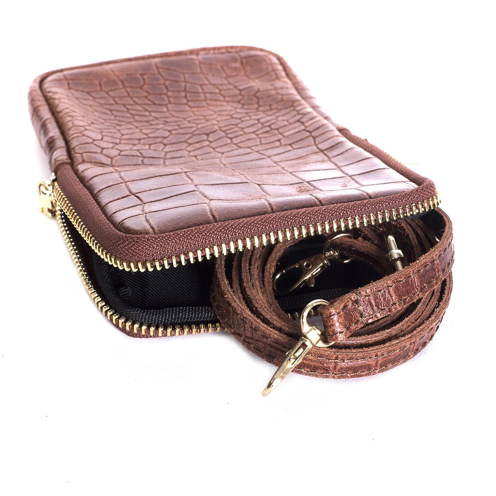 Mini bag, UNO, Abigail (каштан)