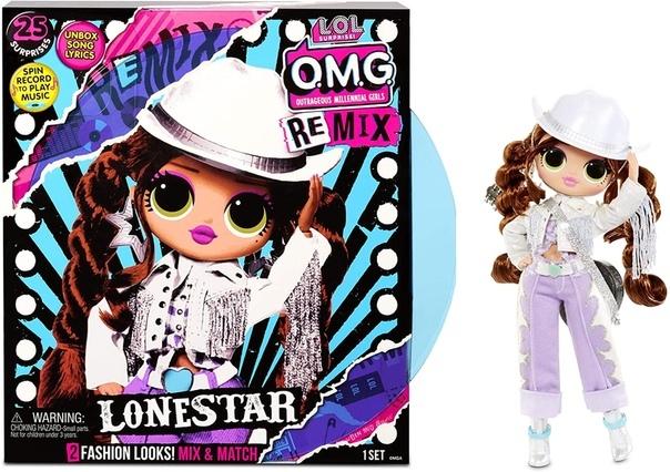 Кукла L.O.L. Surprise! O.M.G. Remix Lonestar Fashion Doll, 567233