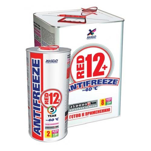 XADO Antifreeze Red 12+ -40⁰С Готовый антифриз 2.000