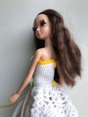 Одежда для кукол Барби Воздушное платье