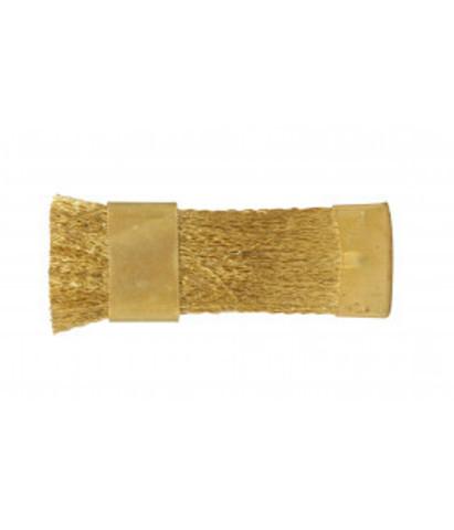 Щетка металлическая для чистки фрез (латунь)