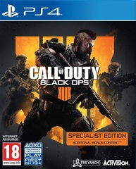 Call of Duty: Black Ops 4 Specialist Edition (PS4, русская версия)