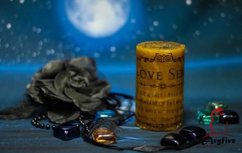Свеча «Печать любви»