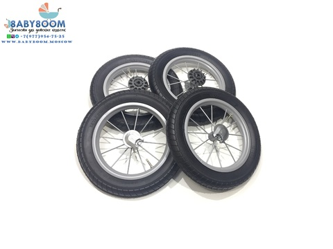 Комплект колес в сборе для Inglesina шасси ErgoBike, Ergo Bike Comfort, Comfort Chrome