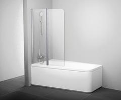 Шторка для ванны Ravak 10° 10CVS2-100 L хром Transparent