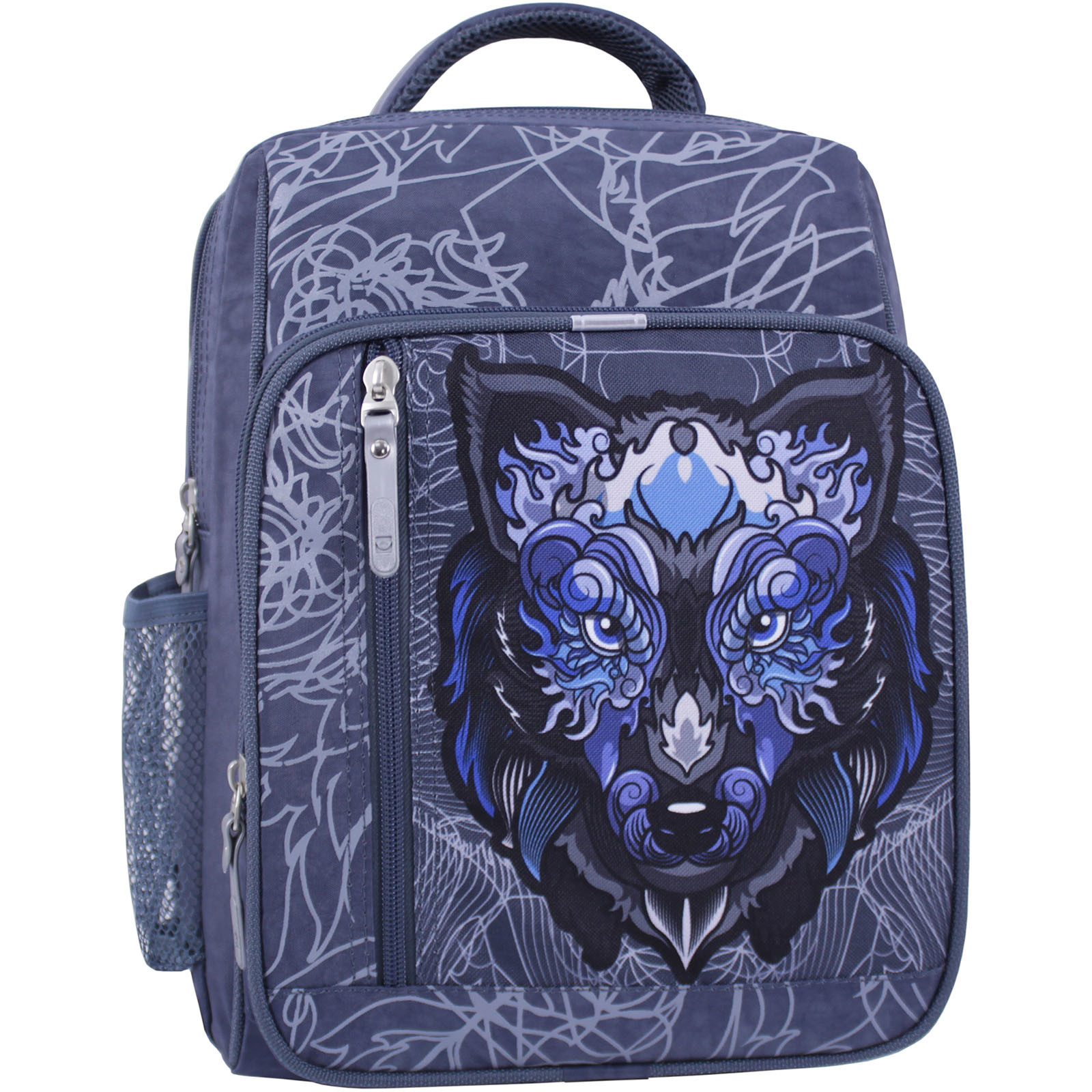 Детские рюкзаки Рюкзак школьный Bagland Школьник 8 л. 321 серый 506 (0012870) IMG_0967_суб.506_.JPG