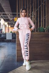 Спортивный костюм розовый хлопковый купить