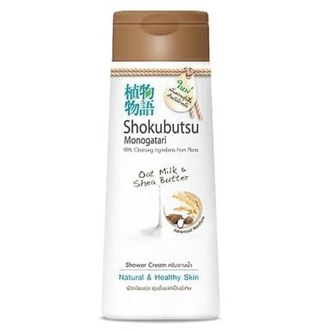Крем-гель для душа овсяное молочко и масло ши 200 мл 'Shokubutsu
