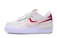 Nike Air Force 1 Low Shadow 'Grey/White/Pink'