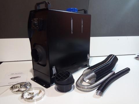 Автономный отопитель 12 В чёрный пульт A1