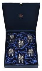 Подарочный набор хрустальных стаканов для виски Премьер, фото 3