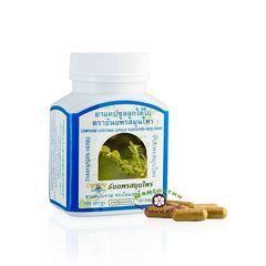 Капсулы для восстановления печени Лук Тай Бай/Compound Looktaibai capsule Thanyaporn Herbs