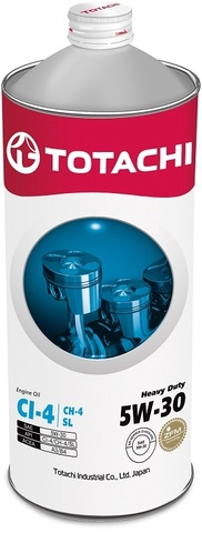 Heavy Duty 5W-30 TOTACHI масло минеральное дизельное моторное (1 Литр)