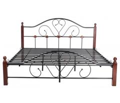 Кровать FD 802 200x160 (Queen MK-1911-RO металл) Темная вишня